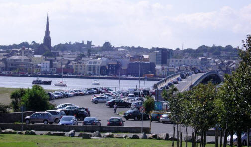 View of Wexford town